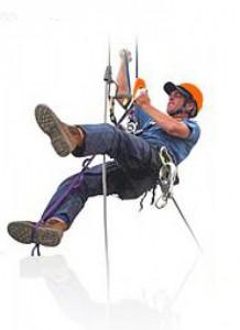 высотные работы, альпинисты, работа на высоте